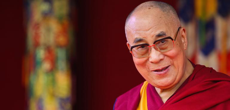 His Holiness the Dalai Lama to...