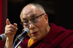 The Dalai Lama at a conference organized by the Indian Association of Preventive and Social Medicine in late February/Associated Press
