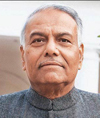 Mr. Yashwanth Sinha, Former Union Minister, GoI and Convener of All Party Indian Parliamentary Forum for Tibet (APIPFT)