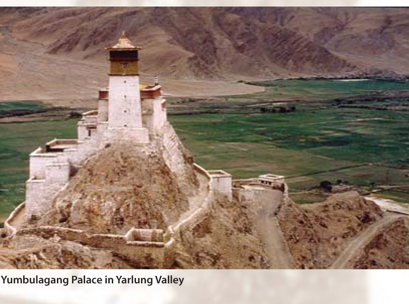 Yumbulagang in Yarlung Valley.