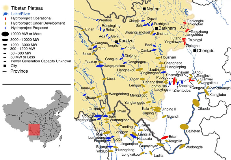 China's Great Dam Boom: An Assault on Its River Systems - Central ...