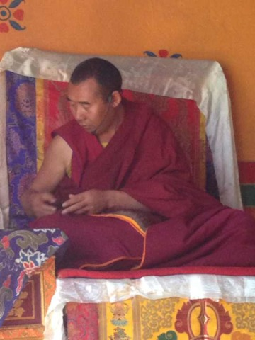 Senior Buddhist master and scholar Ngawang Jampel, who was tortured to death in Chinese policy custody