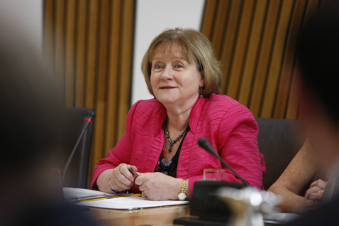 Maureen Watt is a Scottish politician who has served as a Scottish National Party Member of the Scottish Parliament for North East Scotland since 2006.