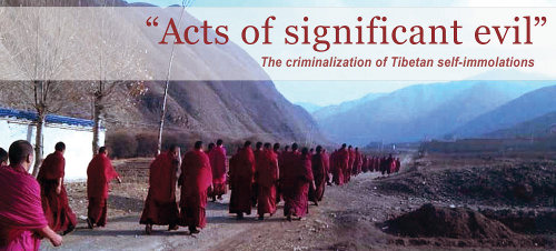 The report published by International campaign for Tibet on 31 July 2014.