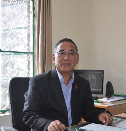 Mr. Ngodup Tsering, currently serving as the Secretary of the Education Department.