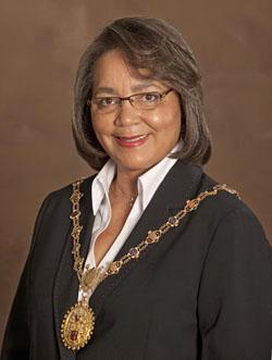 Executive Mayor Patricia de Lille