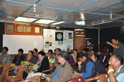 Public at the TED talk on entrepreneurship development at Mcleod Ganj.