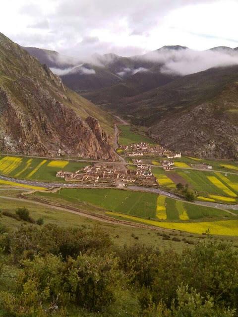 Fig2. Dokar Village where the poisoned river flow through