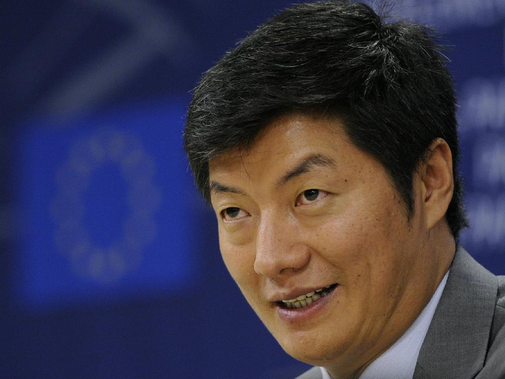 Tibetan political leader Dr. Lobsang Sangay