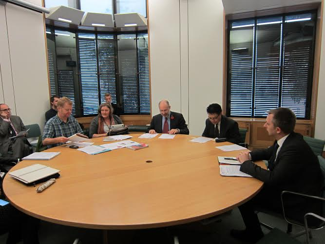 Kugnoe Tashi Phuntsok la attended All Party Parliamentary Group's meeting on the 29th October at Portcullis House, Westminster London