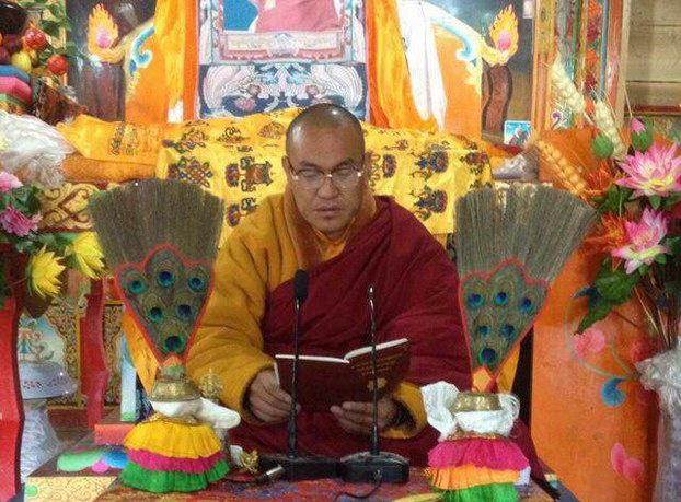 Kelsang Yeshi in an undated photo (RFA)