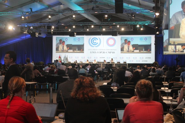 The UN Climate Change Conference or more popularly known as the COP20 at Lima, in Peru.