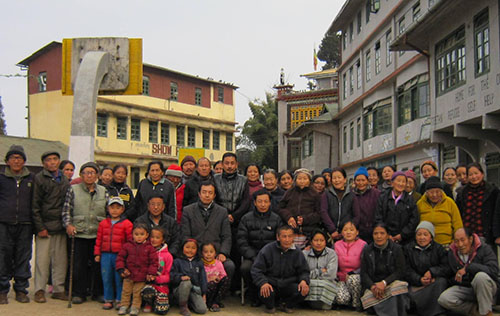 Health Kalon with Tibetans of Darjeeling, West Bengal.