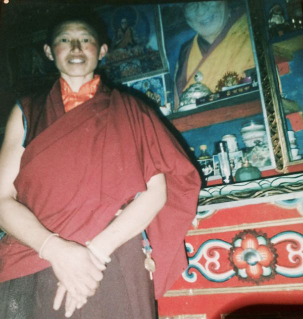 Yeshi Khando died in self-immolation on 8 April 2015.