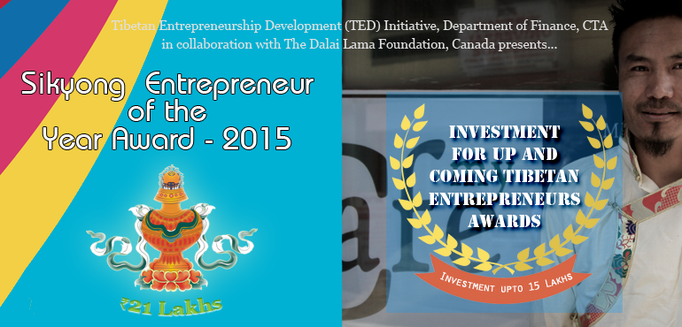 Sikyong Entrepreneur of the Year to Receive Rs 21 Lakhs