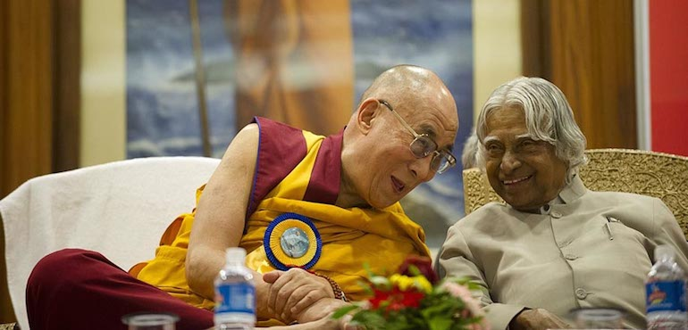 His Holiness Expresses Condolences Over Passing Away of Former President Dr. A.P.J. Abdul Kalam