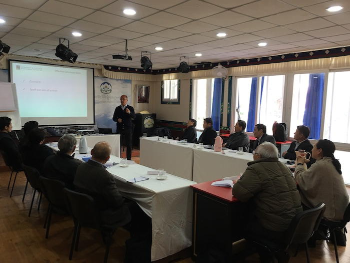 Mr Peter Traub, moderating the Strategic Planning workshop being held from 31 January to 2 February 2016.