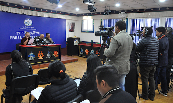 EC declares the final list of candidates for Sikyong and 16th Tibetan Parliament, 3 February 2016.