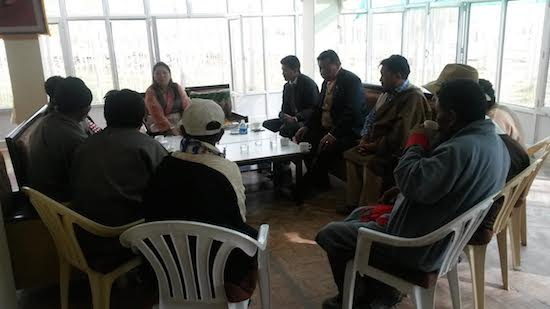 Kalon's meeting with the Representatives of Tibetan Community of Sonamling & Changthang, Leh-Ladakh