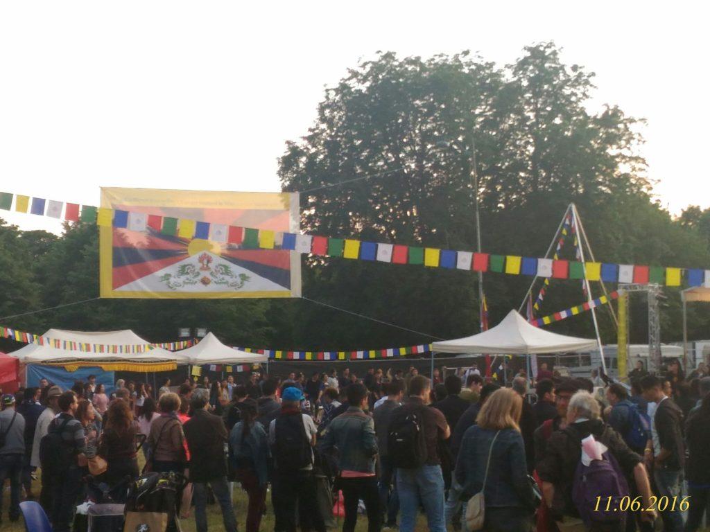 Festival in progress.