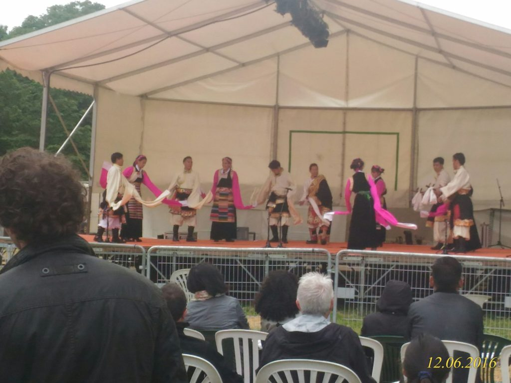 Cultural performances being presented at the festival.