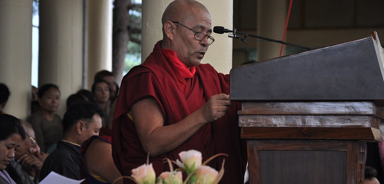 Speech of the Tibetan Parliament in Exile on the Occasion of Celebrations Marking the 81st Birthday of His Holiness the Dalai Lama