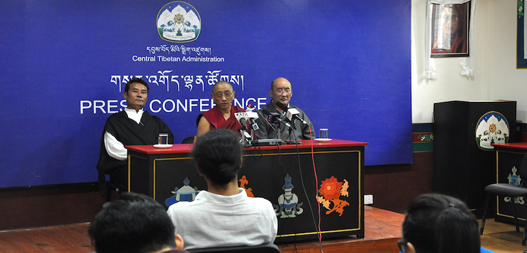 Organising Committee of Upcoming 34th Kalachakra Holds Press Conference