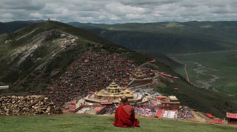 A photo of Larung Gar valley (Representational image). Source: Fickr