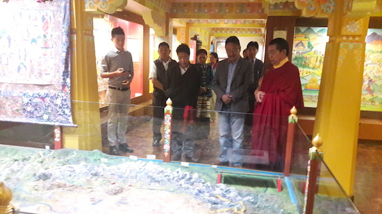 Home Kalon's visit to Manjushree Centre of Tibetan Culture, Darjeeling.