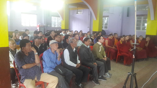 Home Kalon address to Kalimpong Tibetan public.