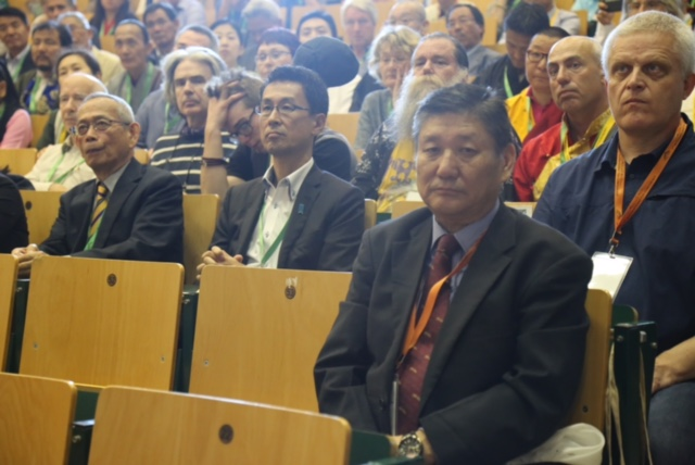 Mr Sonam Norbu Dagpo, Secretary of the Department of Information and international Relations at the Conference, 8 September 2016.