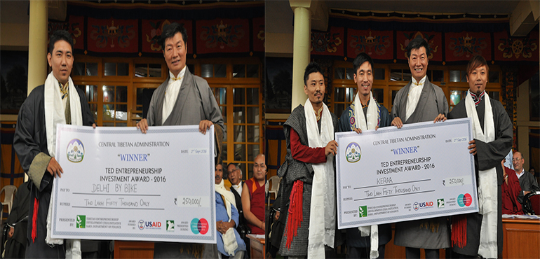 TED Awards Two Rising Tibetan Entrepreneurs with Investment Fund