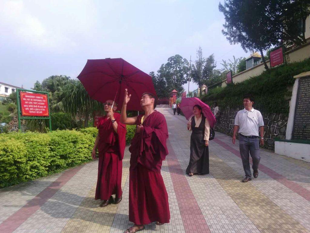 Kalon Karma Gelek yuthok at Sakya Dolma phodrang, Rajpur.