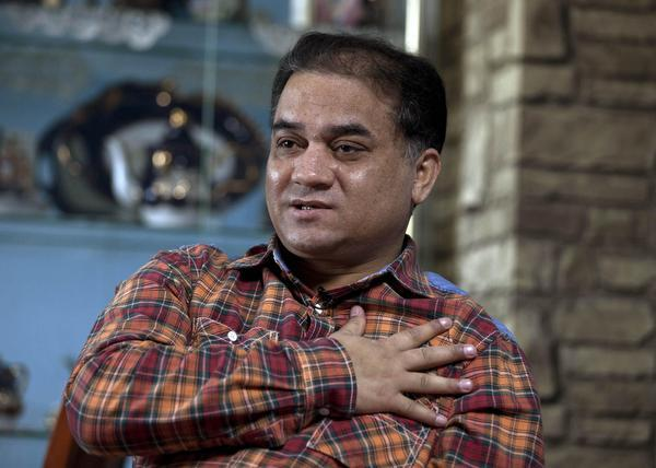 AP Ilham Tohti, an outspoken scholar of China's Turkic Uighur ethnic minority in this file photo.