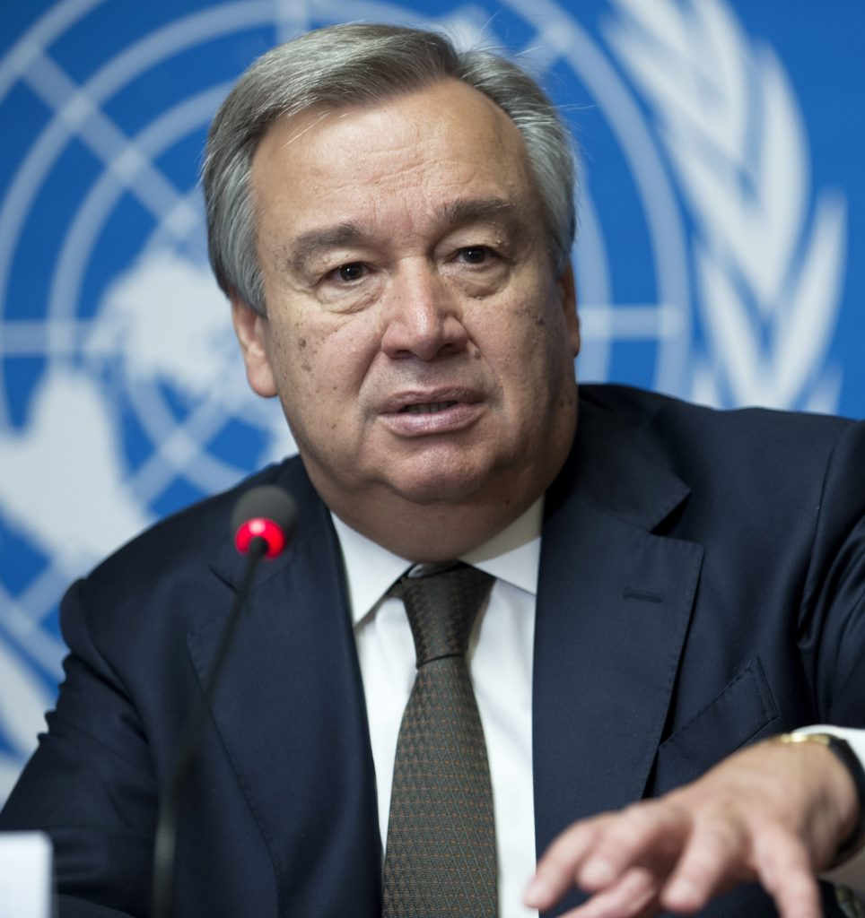 Mr Antonio Guterres, next General-Secretary of United Nations.
