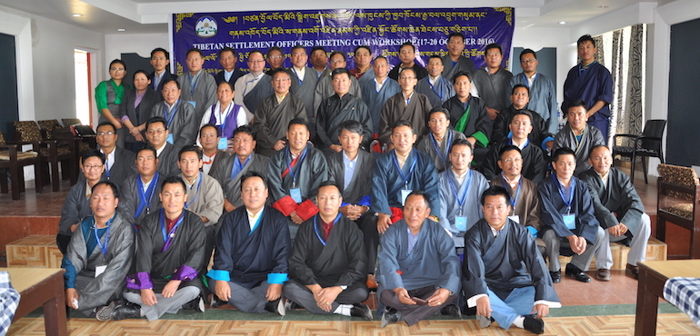Older Generation are the Pillars of Tibetan Community: Sikyong at Closing Ceremony of 11th Settlement Officers Meeting cum Workshop
