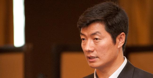 Sikyong Dr Lobsang Sangay (file pic)