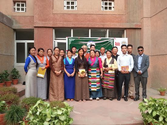 A group photo of participants with resource persons.