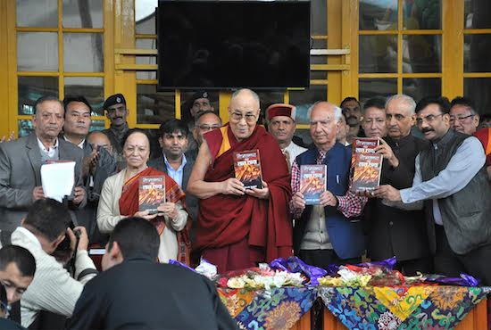 His Holiness the Dalai Lama inaugurates the new edition of