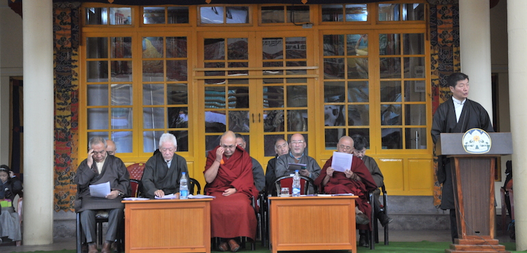 Tibetans Pay Tribute to His Holiness the Dalai Lama on 27th Nobel Peace Prize Day