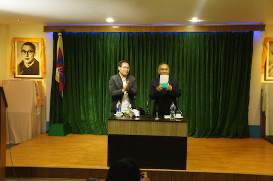Education Kalon releasing the book titled 'Messenger of Peace' published by ANEC.