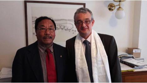 Meeting with Mr. Marek Benda, Member Parliament of the Czech Republic