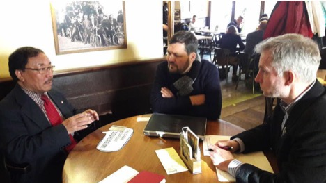 Briefing with Mr. Mark Martin, President of Amnesty International, Prague