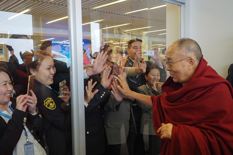 Mongolians Hope for His Holiness the Dalai Lama's Visit - Central