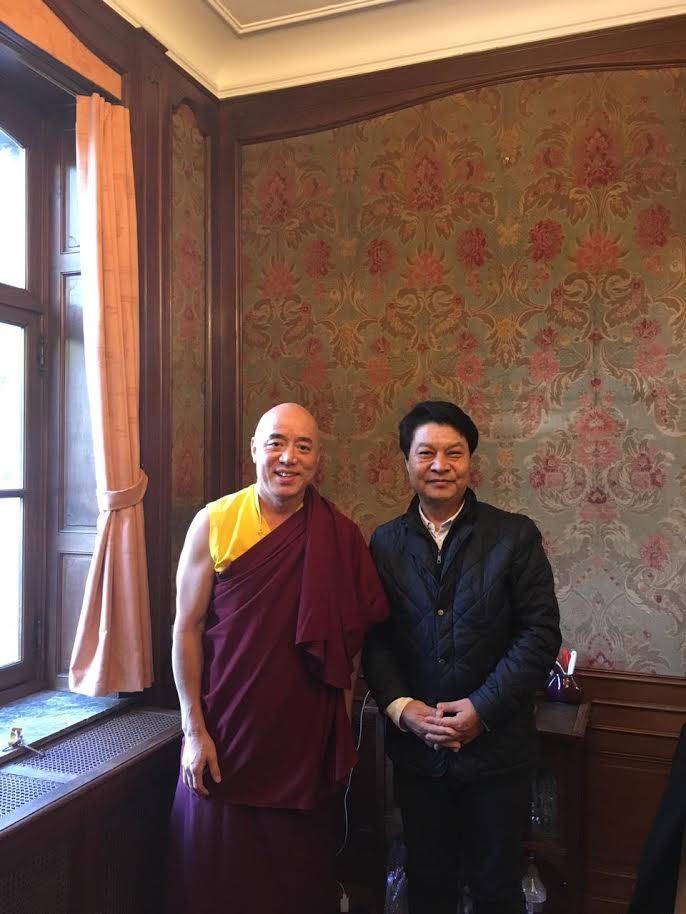 Representative Tashi Phuntsok with