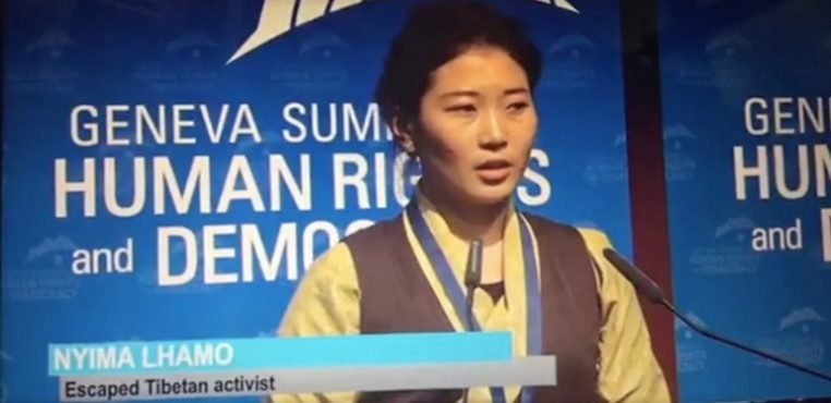 "Niece of Tenzin Delek Rinpoche among ""UN Human Rights Heroes"" in Geneva Summit"