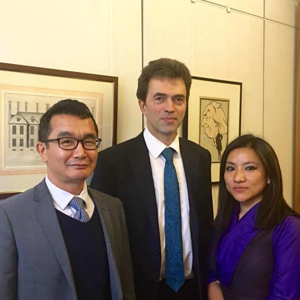 2_With Tom Brake MP