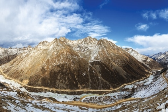 Genetic analysis suggests that humans have continuously inhabited the Tibetan Plateau as far back as the last ice age. Credit: Getty Images