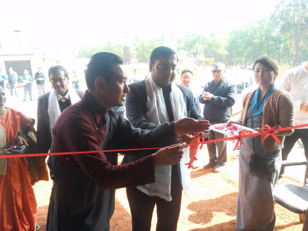 Chief Guest inaugurating the exhibition