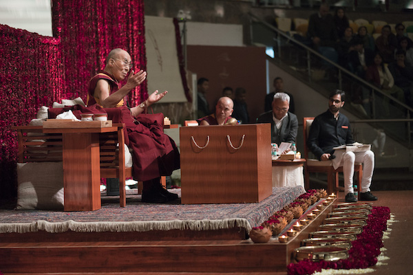 His Holiness the Dalai Lama speaking on '